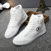 Men canvas shoes for 2017 spring and autumn female High- top ...