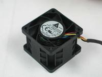 Delta FFB0412UHN-8L1M DC 12 V 0.81A 4-fio conector de 4 pinos 40x40x28mm Servidor Quadrado Ventilador de refrigeração