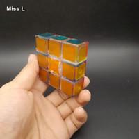 Transparent 1x3x3 Vitesse Magique Cube Puzzle Jeu Jouet Éducatif Pour Enfants Cadeau D'enfant Anti Stress Cadeau De Noël