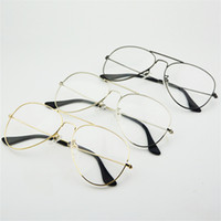Fashion Women Glasses Frames Men Transparent Classic Aviatio...