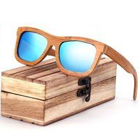 ZA03 Occhiali da sole in legno retrò occhiali da sole polarizzati fatti a mano in legno di bambù occhiali moda occhiali da sole personalizzati per uomo e donna all'ingrosso
