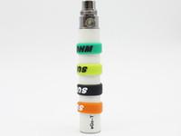 Ecig Anti-slip eGo EVOD 실리콘 도끼 밴드 EVOD eGo 시리즈 용 배터리 뷰티 링 배터리 장식 및 보호 E 담배 eGo C Twist