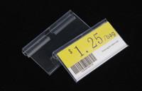 T-end Kanca tarama yetenekleri için Temizle Burcu Tutucu 8 cm reklam etiketleri bilet kartı burcu etiket tel raf ekran askı