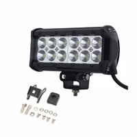 high power 7Inch 36W 12LED Work Light Bar OffRoad LED drivin...