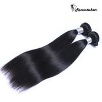 Armadura brasileña del pelo de la Virgen del pelo brasileño de la India del camboyano indio no procesado de los paquetes rectos del pelo de la mejor calidad 9A