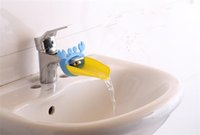 10pcs Cute Bathroom Sink Faucet Chute Extender Crab Children...