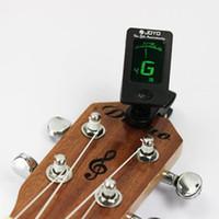 Kromatik Klipsli Dijital Tuner Için Akustik Elektro Gitar Bas Keman Ukulele