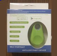 Itag Emniyet koruması Akıllı Etiket Kablosuz Bluetooth Tracker Çocuk Çanta Cüzdan Key Finder GPS Locator Tracker telefonu için anti-kayıp alarmı itag