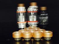 PEI 810 Tropfspitze mit breitem Gummiring für Prince TFV8 Kennedy 24 RDA Goon 528 Vape Mundstück 810 Zerstäuber