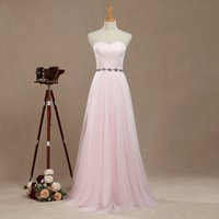 Real Pictures Tulle Bridesmaid Dress Mesh Formal dress Jewel...