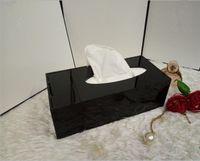 Sıcak satış ! Klasik Yüksek dereceli Akrilik İşlevli Doku Kutusu / Kozmetik Aksesuarları Hediye Paketleme ile Depolama