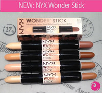 NYX Wonder Stick Crayon Contour Des Yeux Maquillage Couverture Femmes Highligher 4 Couleurs Contours Ombre Stick Light / Medium / Deep / Universal