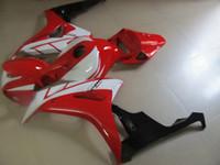 carenados moldeadas por inyección para Honda CBR1000RR 06 07 rojo blanco carrocería carenado kit CBR1000RR 2006 2007 OT30