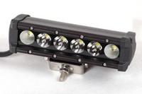 뜨거운 판매 30w 주도 작업 빛 막대 6 인치 주도 Offroad 빛 30w 방수 IP 67 미니 보트 사냥 운전 wroking 빛