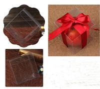Квадратные пластичные ясные коробки PVC прозрачная водоустойчивая коробка подарка PVC носит коробку случаев упаковывая для ювелирных изделий/конфеты/игрушек