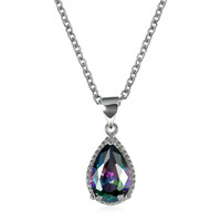 INANIS Womens Fashion Jewelry Rainbow Colorful Cubic Zirconi...