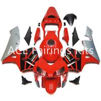 3 هدايا مجانية لهوندا CBR600RR F5 03 04 CBR600RRR 2003 2004 حقن ABS دراجة نارية كيت أبيض أسود A22S