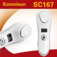 2 En 1 Máquina Facial para Apretar la Piel Caliente y Fría Uso Personal Recargable USB Remoción de Arrugas Inalámbrica Equipo de Belleza Cuidado de la Piel