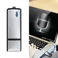 USB Disk Voice Recorder Avec 8 Go de mémoire Spy Hidden Digital Voice Recorder Flash Drive Film d'enregistrement caché Caméscope