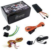 GT06 Автомобильный GPS Tracker Global Real Time Quad-Bands SMS GSM GPRS Автомобиль Отслеживание устройства Устройство Монитор Локатор Пульт дистанционного управления для мотоцикла Scooter