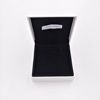 Authentic Paper Box Packaging For Pandora Style Jewelry Char...