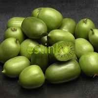 100pcs/lot Mini Kiwi Fruit Seeds Kiwiberry Actinidia Arguta Tara Vine Seeds Bonsai Fruit Potted Plant DIY Home Garden