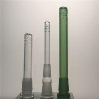Bongs de verre 14mm 18mm Tuyaux Tige Bong longueurs multiples pour tube bécher bong pipe à eau Rigs à huile Dab Heady Dabber