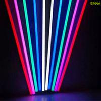 T5 T8 tubes LED Tubes lumières de couleur 5FT 4FT 3FT 2FT intégré AC85-265V rouge bleu vert 2835SMD Ampoules fluorescentes Lampes directes de Shenzhen Chine