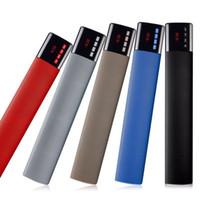 20pcs / Dual Bass Soundbar 10W Bluetooth haut-parleur LCD horloge haut-parleurs sans fil Portable mains libres TF FM caixa de som pour xiaomi PC