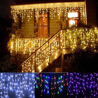 christmas outdoor decoration 3. 5m Droop 0. 3- 0. 5m curtain ici...