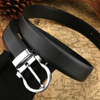 Hot sale new designer belts men high quality big buckle belt...