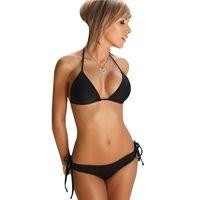 Traje caliente Bikini de baño atractivo del traje de baño del vendaje de las mujeres del verano del bikini de baño empujan hacia arriba Biquinis Femenino Maillot De Baño