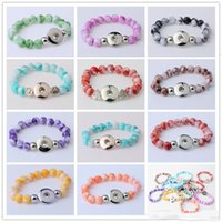 NOOSA Hot Sale Snap Button Bracelet Bangles 10mm Resin Stone...