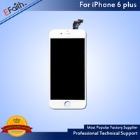 Wholesale- Grade A + + + LCD Display For iPhone 6 Plus 5. 5 Scre...