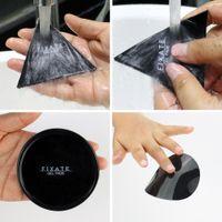 New Magical Super Poderoso Fixate Gel Pads Forte Stick Glue Em Qualquer Lugar Da Parede 2 pçs / set Com saco de opp