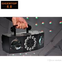 TIPTOP КОЛОНИЯ 4 FX Stage Effect Disco Light Оборудован 4 * высокая MCD 5W LED, красный / зеленый / синий / желтый + 12 * высокая MCD 1W белый Strobe этап лазерного луча