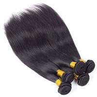 Норка бразильский прямые человеческие волосы ткать пучки новое прибытие перуанский Виргинские волосы утки необработанные Реми человеческих волос расширения только для вас