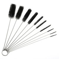 8 Inch Reusable Nylon Tube & Pipe Cleaning Brushes Stainless...