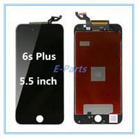 iPhone 6sPlus (5.5 인치) 용 Dead Pixel LCD 디스플레이 콜드 글루가있는 터치 스크린 디지타이저 강력한 프레임 전체 어셈블리 좋은 3D 터치