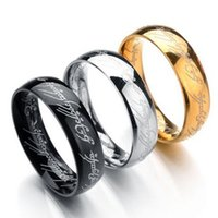 6MM Size 6 - 13 Gold Plated Stainless Steel Ring Band Wedding...