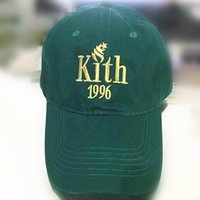 Newest 2017 Kith 1996 dad hat KITH Classic Logo cotton Snapb...