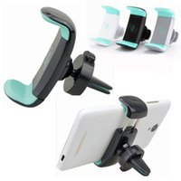 Mini Air Vent Car Mount Holder 360 Rotating Clip Stand For M...