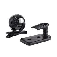 360 ° ROTATIFICABILE MINI DV SQ9 Full HD 1080P Mini fotocamera 6 LED Night Vision Security Surveillance CCTV Cam Car DVR Sport DV 50pcs