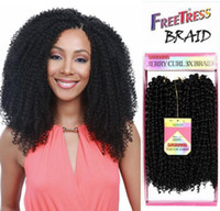 DHL Fast shipping Savana 3x jerry curly hair weaves syntheti...