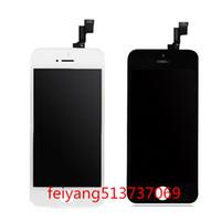 Tian Ma Için 20 adet / grup LCD Ekran Dokunmatik Ekran Digitizer Komple Meclisi iphone 5 5G 5C 5 S 6 6 artı 6 s 6 splus 7 7 artı 8 8 artı ücretsiz DHL