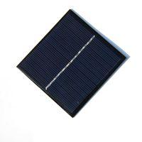 Hot Alta Qualidade 1 W 6 V Mini Módulo Celular Policristalino Painel Solar DIY Carregador Solar 82 * 85 * 3 MM Frete Grátis