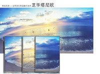 Frame style oil painting wall art decoration abstract modern...
