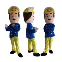 new professional fireman sam mascot costumes fancy dress halloween party children adult size - Fireman Halloween