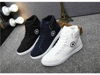 Men Women canvas shoes for 2017 spring and autumn female Hig...
