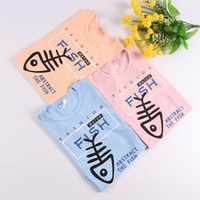 Children' s T Shirt Boys Girls T- shirt Baby Clothing Fis...